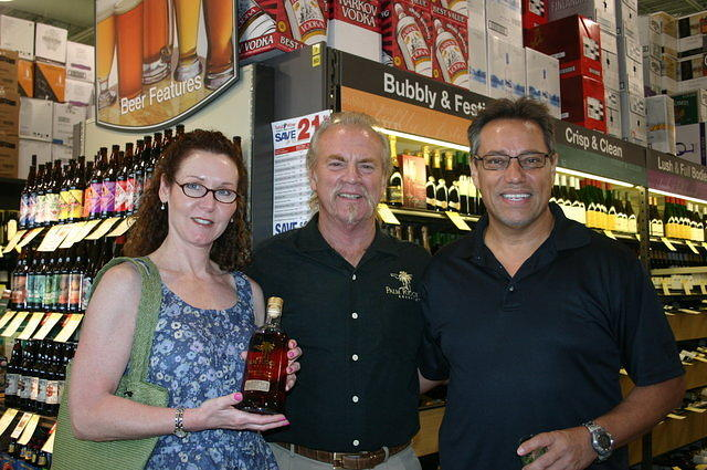 """Cindy, Dick & Peter @ Total Wine Pembroke Pines"" 6-3-11"