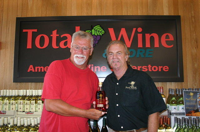 "John & Dick @ ""Total Wine Boynton Beach"" 6-17-11"