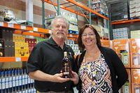 """Dick & Cathy @ Costco in Sarasota 4-12-13"""