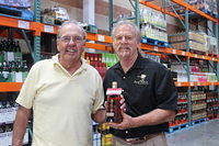 """Bo & Dick @ Costco in Sarasota 4-12-13"""
