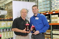 """Dick & Eric @ Costco in Jax 4-20-13"""