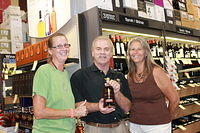 Lisa, Dick & Sue @ Total Wine Millenia 6-2-12