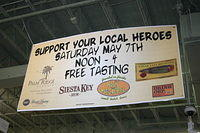 """Tasting @ Total Wine Orlando, celebrating locally produced Florida products."""