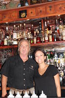 Dick & Diana (owner of The Courtesy Bar) 7-9-13