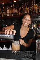 Diana (Courtesy) making a Florida Sour w/ PRR 7-9-13