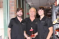 Wyatt, Dick & Jose @ Vines Wines & Spirits Sandlake Rd 7-23-13