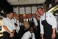 The Team @ Ruth's Chris Sandlake Rd 7-23-13