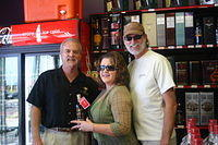 "Dick, Linda & CJ @ ""Florida Liquors of Mt Dora"" 11-18-11"