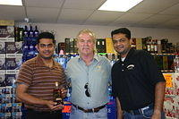 "Dick, Peter & Carl @ ""Liquor Warehouse"" in Leesburg"