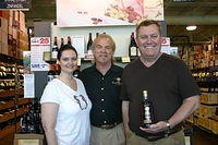 Cassandra, Dick & Randy @ Total Wine Tampa 4-2-11