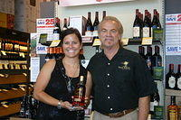 Katie & Dick @ Total Wine Tampa 4-2-11