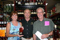 Cathy, Dick & Mike @ Luekens Liquor 4-21-11