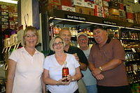 Robin, Janet, Dan & Bob @ Total Wine-Wellington 4-22-11