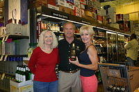 Susan, Dick & Judi @ Total Wine-Wellington 4-22-11
