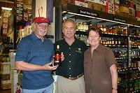 Ron, Dick & Stephanie@Total Wine-Wellington 4-22-11