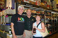 Paul, Dick & Karen @ Total Wine-Wellington 4-22-11