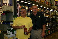 TJ & Dick @ Total Wine-Wellington 4-22-11
