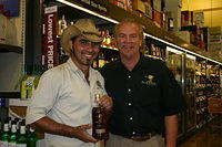 Cesar & Dick @ Total Wine-Wellington 4-22-11