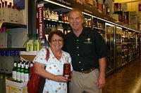 Maria & Dick @ Total Wine-Wellington 4-22-11