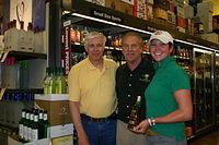 Tom, Dick & Christina @ Total Wine-Wellington 4-22-11