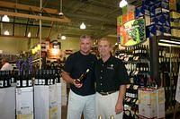 Keith & Dick @ Sarasota Total Wine 7-24-10