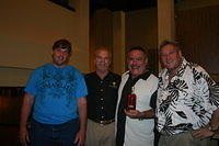 "Eric, Dick, Rafael & Eddie @ Double Tree Hilton Orlando @ Sea World"" 8-2-11"