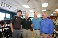 "David, Dick, Brett & Mike @ ""ABC 1930 Thomasville Rd, Tallahassee"" 8-11-11"