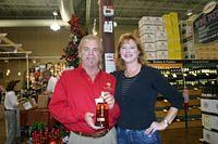 Dick & Carie @ Total Wine Ft Myers 12-17-10