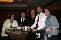 "Our friends from the Iron Mountain Whisky Club @ the ""Whiskey Affair"" 12-1-11"