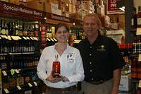 Susan & Dick @ Total Wine Boynton Beach 2-11-11