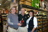 Greg & Lyn @ Total Wine PBG 2-12-11