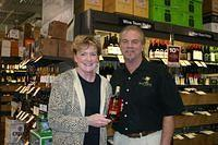 Cathy & Dick @ Total Wine PBG 2-12-11