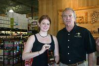 Melissa & Dick @ Total Wine Jax 2-19-11