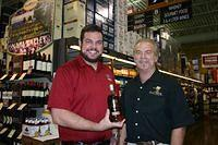 Blake (FB) & Dick @ Total Wine Boca 2-26-11