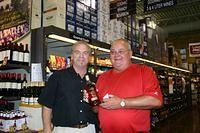 Dick & Gilles @ Total Wine Boca 2-26-11