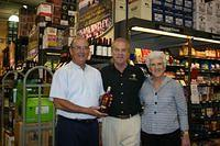 Jay, Dick & Diane @ Total Wine Boca 2-26-11
