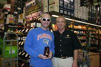 Jason & Dick @ Total Wine Boca 2-26-11