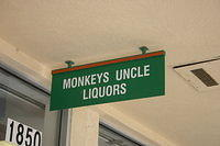 "Our visit to ""Monkey's Uncle Liquors"" in S Jax Beach 7-1-11"
