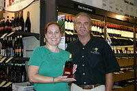 "Jo Anne & Dick @ ""Total Wine Orlando"" 7-2-11"