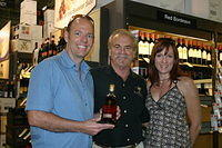 "Jason, Dick & Sara @ ""Total Wine Orlando"" 7-2-11"