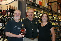 "Richard, Dick & Kathy-Jo @ ""Total Wine Clearwater"" 7-15-11"