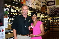 "Dick & Michelle @ ""Total Wine St Pete"" 7-16-11"