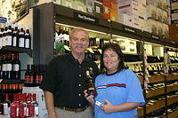 "Dick & Pam @ ""Total Wine St Pete"" 7-16-11"