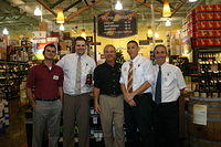 "Art, Brian, Dick, Eric & Lee @ ""Total Wine St Pete"" 7-16-11"