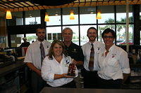 "Rudi, Kristine, Dick, Chris & Karyn @ ""Total Wine St Pete"" 7-16-11"