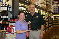 "Christy & Dick @ ""Total Wine St Pete"" 7-16-11"
