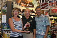 "Nedra, Dick & Ernesto @ ""Total Wine Stuart"" 7-22-11"