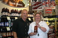 "Dick & Monique @ ""Total Wine Stuart"" 7-22-11"