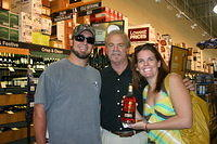 """Sean, Dick & Skyler @ Total Wine Ft Lauderdale"" 6-4-11"