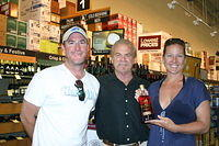 """Jason, Dick & Sarah @ Total Wine Ft Lauderdale"" 6-4-11"